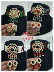 Wedding Wear Choker Necklace Set