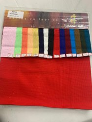 Simandhar Textile Cotton 40x40 Box Dobby Shirting Fabrics, For Garments