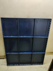 Blue Mild Steel Shuttering Centering Plates, Size: Coustomized