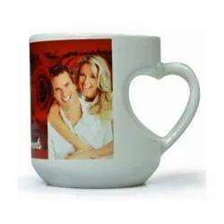 Sublimation Heart Mug