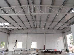 Steel Prefab Tubular Structural Shed