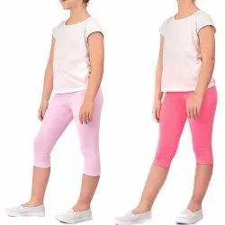 White Girl Kids Capri