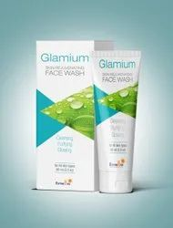 Glamium Facewash Cosmetic Face Wash, Age Group: Adults, Packaging Size: 60 Ml