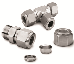 Ss 316 Steel Jic Tube Fittings, For Hydraulic Pipe, Size: 1/2 inch