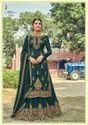 Heavy Embroidered Georgette Party Wear Ladies Lehenga Salwar Suit