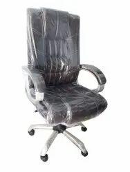 Rexine Boss Office Chair, Black