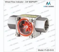 Wheel Flow Indicator -3/4