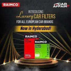 Raimco Filters for all European Cars - Oil, Air and Cabin Filters. Dealers Invited