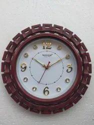 MANVEER Plastic Opal Wall Clocks, Size: 12x12 Inch(wxl)