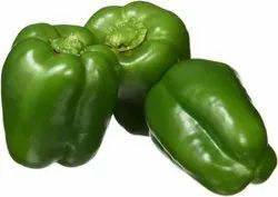 Fresh A Grade Green Capsicum, For Cooking, Packaging Size: 50 Kg