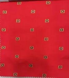 Cotton Red Textile Fabrics