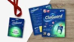 CLO2 Guard  Disinfection Card