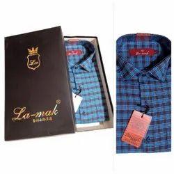 Full Sleeves Regular Fit Casual Check Shirt