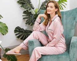 Fastyle Plain Pajama Set