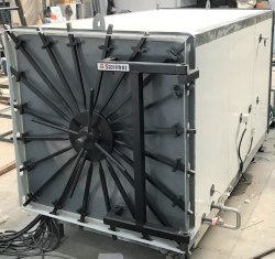 Stainless Steel Horizontal Industrial ETO Sterilizer