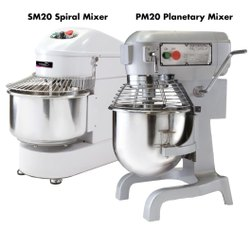 Spiral Planetary Mixer