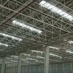Metal Sheet Roofing Structure