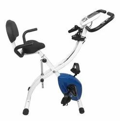Dolphy Upright Folding Exercise Bike with back seat, Model Name/Number: DGC4-B