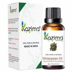 KAZIMA 100%纯天然和未稀释的冬青精油,个人,客厅,包装类型:玻璃瓶