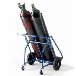 LM-OXG-25 Oxygen Cylinder Handling Trolley