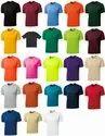 Half Sleeve Polyester Mens Round Neck T Shirt, Size: Medium