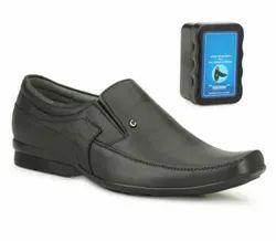 Tlizrok Formal Mens Black Designer Mild Leather Shoes, Size: 6