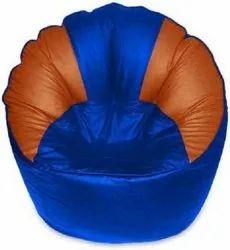 XXXL Blue and Tan Muddha Bean Bag