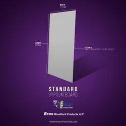 White EROS INDIA Standard Gypsum Board, For False Ceiling