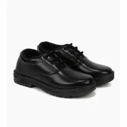 PU School Regular Shoes, Size: 7