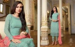 Georgette Party Wear Ladies Salwar Suits