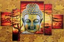 Buddha poster wall tiles