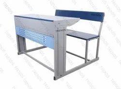 Double Joint Classroom Desk Observer Model