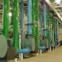 Water Pipe Line Fittings Service, in Faridabad, Square