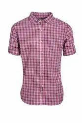 Men Pinkissh Casual Shirt