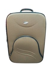 Rexine Brown Trolley Bag, For Luggage, Size: 37 X21 X55 Cm ( L X B Xh)