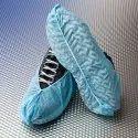 Blue Disposable Shoes Cover