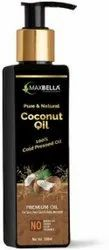 200ml MaxBella 100% Natural Extra Virgin Coconut Oil, For Hair Care