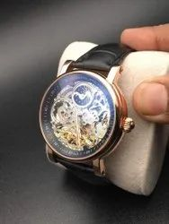 Round Luxury(Premium) Patek Philippe Watch For Men, For Personal Use