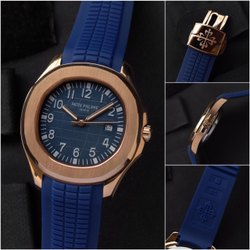 Blue Patek Philippe Automatic Watch For Men