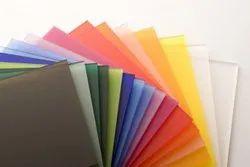Acrylic Colour Transparent Sheet