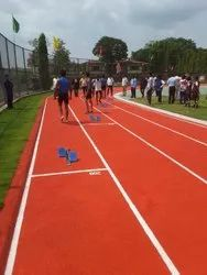 Rubber Running Track Flooring