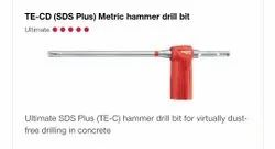 TE-CD (SDS Plus) Metric Hammer Drill Bit