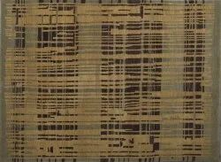 For Home Wool Brown Hand Knotted Carpet Size:-6'0