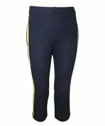 Blue Sports Wear School Uniform Lower, 1, Size: Medium