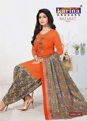 Patiyala Unstitched Suit Material