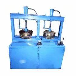 Paper Double Cylinder Hydraulic Thali Dona Making Machine, 220V, Single Phase