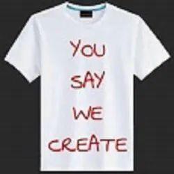 Cotton Printed T Shirt Printing, 20