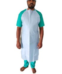 Blue SMS Surgical Disposable Apron, For Ot Room, Size: Free Size