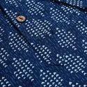 Janasya Men's Blue Cotton Kurta(MEN5032)