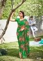 Fancy Printed Weightless Saree